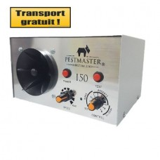 Aparat industrial cu ultrasunete anti rozatoare, pasari si insecte  Pestmaster I50  500mp
