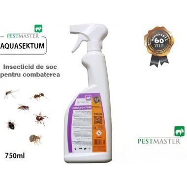 AQUASEKTUM - Insecticid rapid impotriva daunatorilor