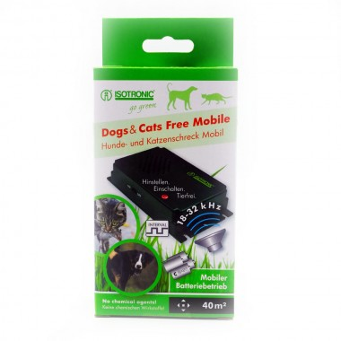 Free Mobile 70626 dispozitiv portabil cu ultrasunete pentru alungarea rozatoarelor si ainsectelor(40 mp)