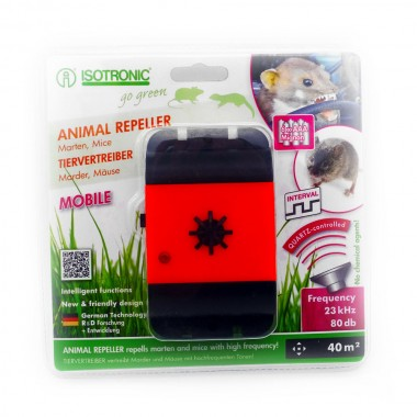 Aparat auto mobil anti-rozatoare jderi dihori soareci sobolani Animal Repeller Mobile 78480 40mp