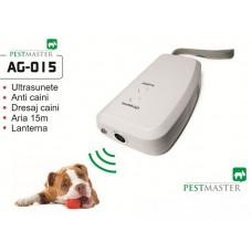 Dispozitiv cu ultrasunete pentru dresarea cainilor domestici sau alungarea celor agresivi Pestmaster AG015