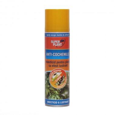 Spray Insecticid pentru plante cu efect lustrant Anti-Cochenile Super Plant 250 ml