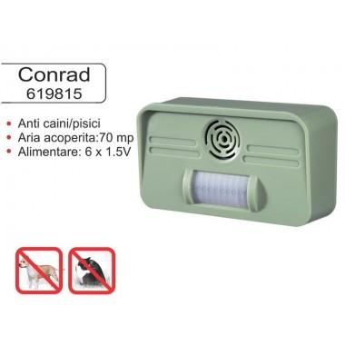 Dispozitiv pentru alungarea cainilor si pisicilor Conrad Germania