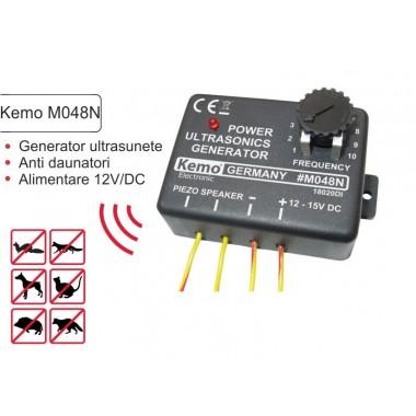 Generator ultrasunete 12-15V  Kemo M048N