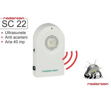 Aparat cu ultrasunete anti acarieni SC-22 (40 mp)