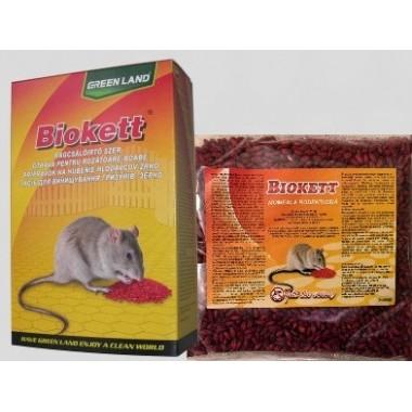 Biokett Pak rodenticid sub forma de boabe de cereale impregnate ( 200gr.)