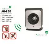 Aparat cu ultrasunete impotriva a capuselor,a soarecilor, a gandacilor si altor insecte taratoare  Pestmaster AG250