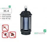 Aparat anti insecte cu lampa UV  Pestmaster IK4 acopera aproximativ 40 mp