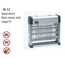 Mini distrugator insecte cu lampi UV pentru terase IK 12 acopera aproximativ 120 mp