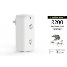 Radarcan R200 aparat cu ultrasunete anti gandaci, tantari, furnici, muste, soareci