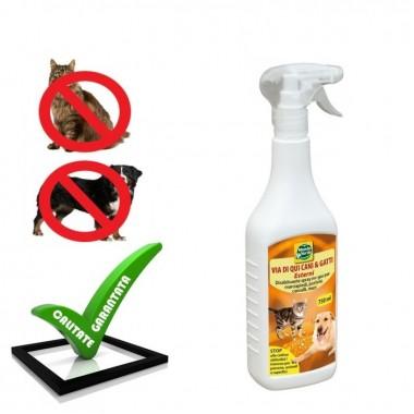 Spray anti caini si pisici pentru uz exterior REP 02