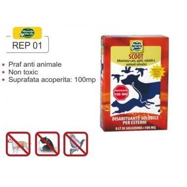 Praf solubil impotriva animalelor  anti pasari, caini, pisici REP 01