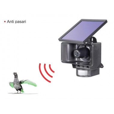 Dispozitiv solar anti-pasari 10 m