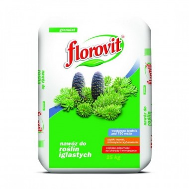 Ingrasamant profesional granulat Florovit pentru conifere 25kg
